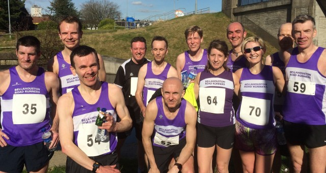 Clydebank 5k – 21 March 2015 – results