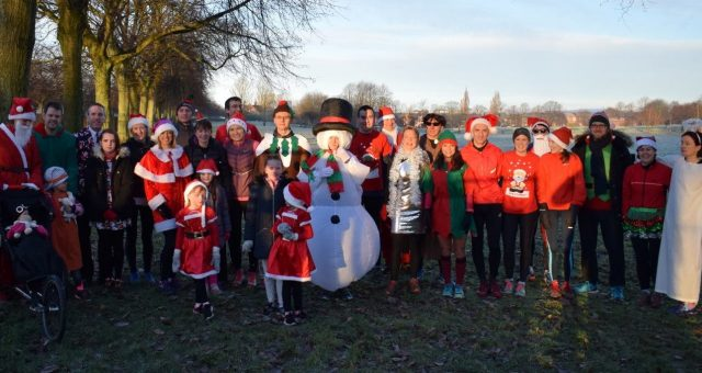Festive fun for the club, supporting Alzheimers Scotland