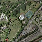 Bellahouston Park Short 1 mile Loop (map 1 of 2)