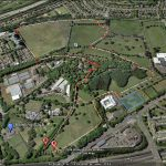 Bellahouston Park Long 2 mile Loop (map 1 of 2)