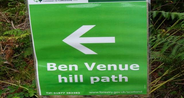 Ben Venue Hill Race – 3 Oct 2015