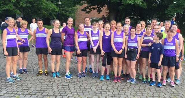 Pollok parkrun – 25th June 2016 – Club championship event