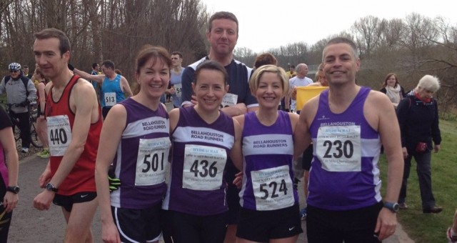 Tom Scott Memorial 10 Mile race results – 5 April 2015