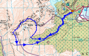 Ben Venue Map
