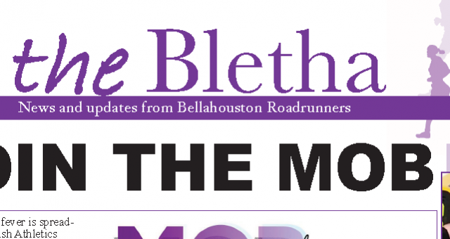 The Bletha 3 – Bellahouston Road Runners Newsheet – is out!
