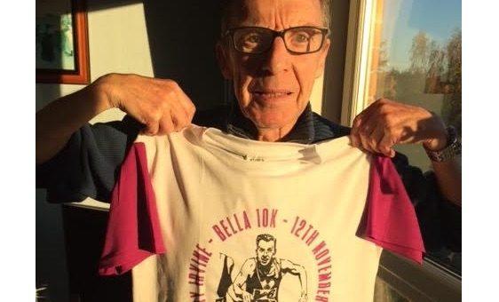 Jimmy Irvine unveils 2017 10k t-shirt design