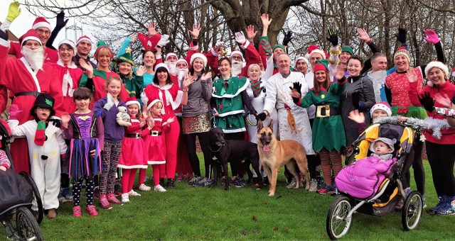 2016 Festive fun run